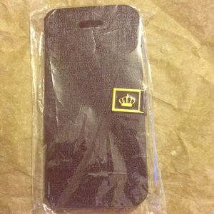 Black Crown 5C iPhone case